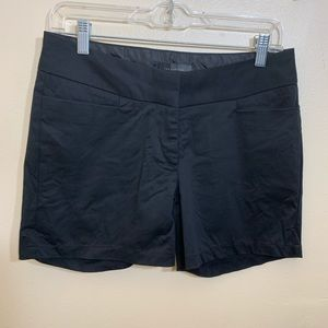 The Limited Black Shorts Size 6